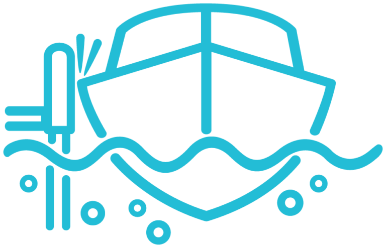 Boat piling icon